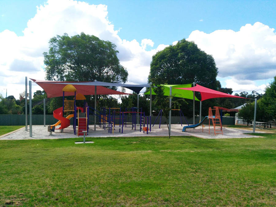 Shade Sails in Playgrounds - Stuart Bell Shade Sails