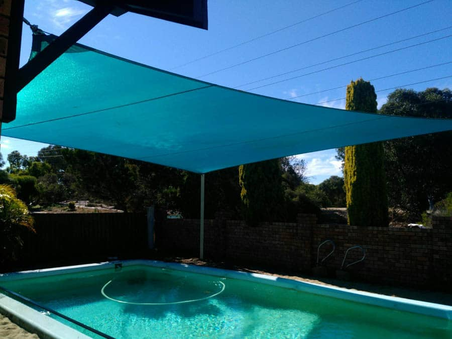 Wide Shade Sails for Pools - Stuart Bell Shade Sails