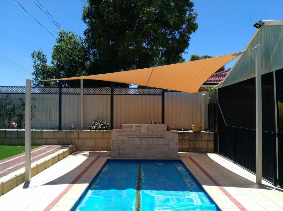 Backyard Pool Shade Sails - Stuart Bell Shade Sails