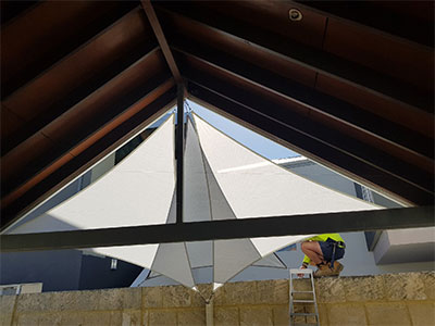 Shade Sails to Improve Privacy - Stuart Bell Shade Sails