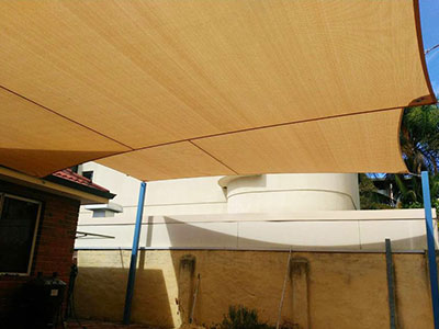 Shade Sails for Residential - Stuart Bell Shade Sails