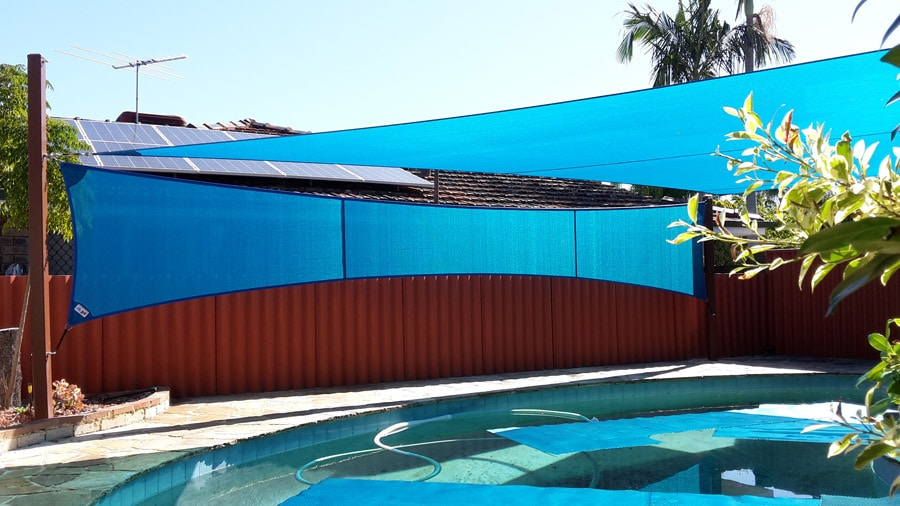 Shade Sails for Outdoor Pools - Stuart Bell Shade Sails